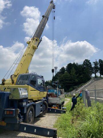 掘削機 積込 タダノ12tクレーン GR-120NL 松阪クレーン